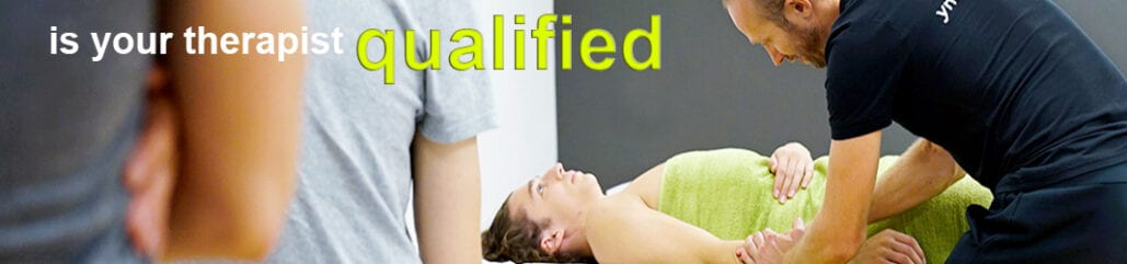 Do I need a qualified massage therapist ?